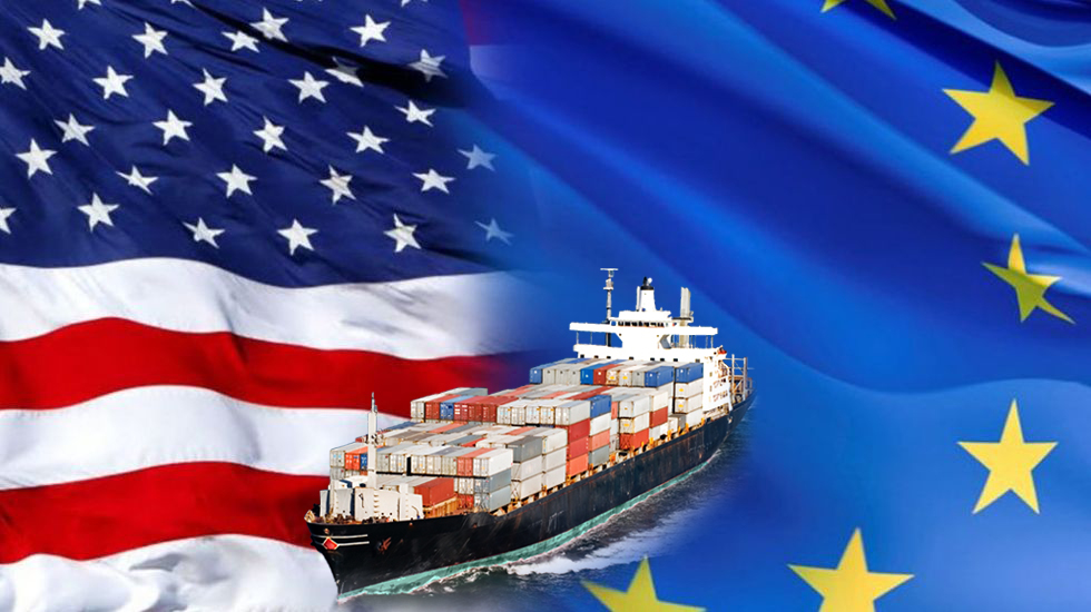 Resultado de imagen para guerra comercial europa estados unidos
