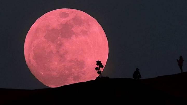 Esta noche no te pierdas la superluna rosa que se podrá observar desde todas partes