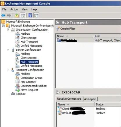 how to create microsoft exchange server account