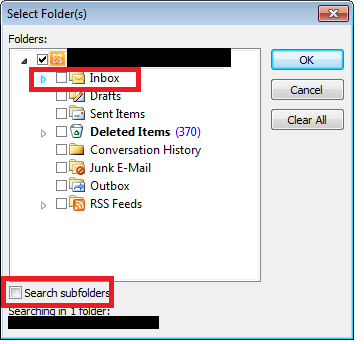 Stop Outlook Synchronization Errors Folder Shown As Unread Email