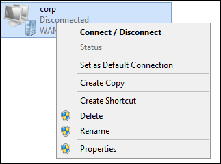Deploying VPN connections to Windows Clients using Group Policy