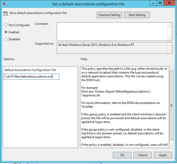 Set Google Chrome As Default Browser Using Group Policy