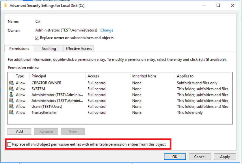 Error When Copying Administrative Templates Files