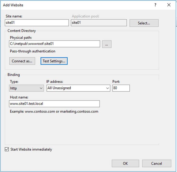 How To Configure IIS To Route Traffic To A Specific Domain - Cloud