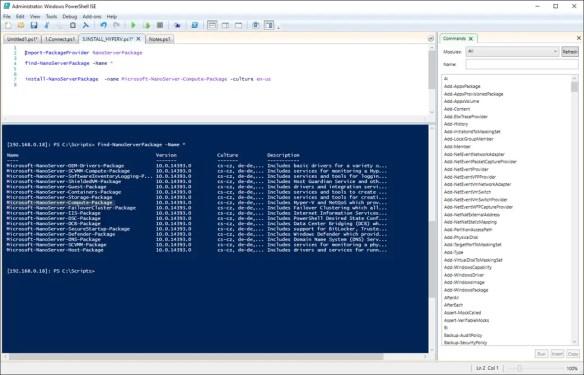 Install Hyper-V On Windows Nano Server 2016 - Cloud and DevOps Blog