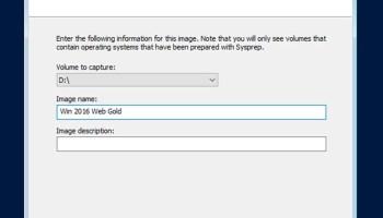 Part 1: Create A Gold Image Using Windows Deployment Server
