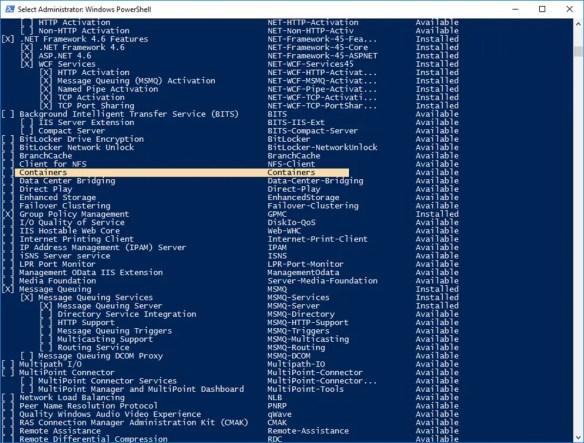 Part 1: Deploy Docker Container On Windows Server 2016