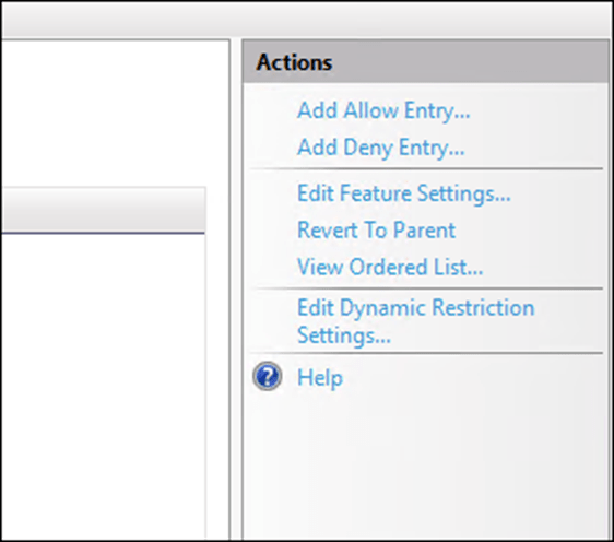 Block Specific IP Address from Accessing IIS 10 Web Site - Cloud and