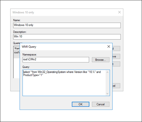 How to Create Group Policy WMI Filter For Windows 10