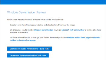 How To Download And Install Windows Server Insider Build