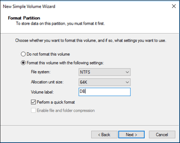 How to Create a Mount Point On Windows Server 2016 - Cloud and