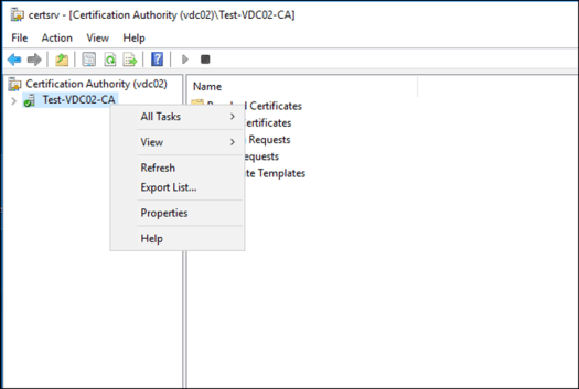 Assign permissions to manage certificate authority windows server from the security tab we can see all the available permissions that we can assign users in my case ill click on add and find david in ad yelopaper Choice Image