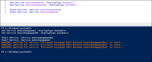 How To Enable POP3 On Exchange Server 2016 - Cloud and