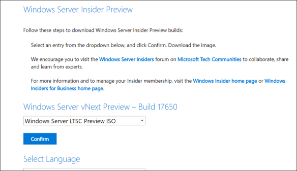New Windows Server 2019 Insider Build 17650 Released - Cloud and
