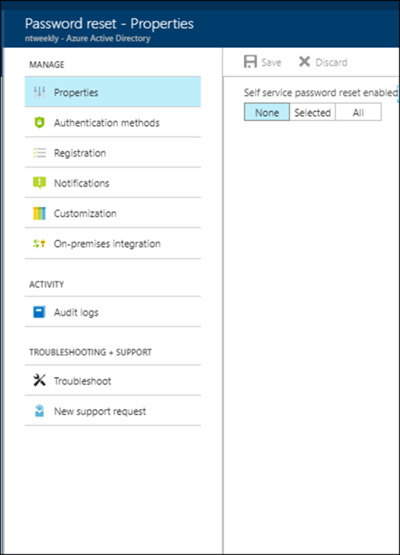 Enable Azure AD Self-service Password Reset Tool - Cloud and DevOps Blog
