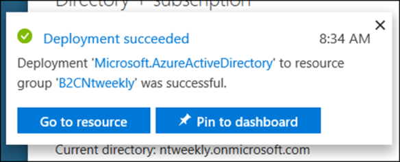 How to Setup Azure Active Directory B2C directory - Cloud