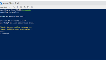 Upload And Run PowerShell Script from Azure Cloud Shell - Cloud and