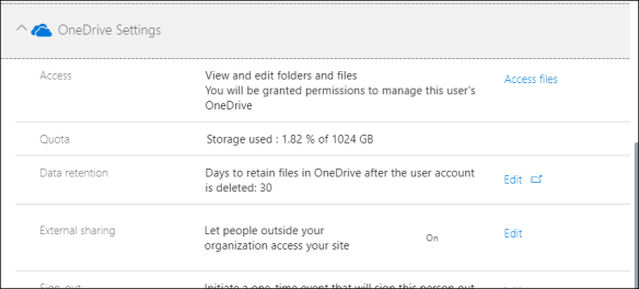 Check OneDrive Storage usage for an Office 365 User - Cloud