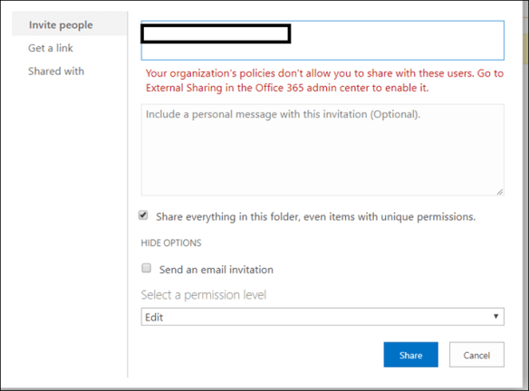 Allow External Sharing in SharePoint Online Site - Cloud and