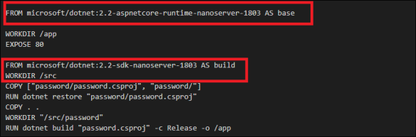 Azure Container Instance Error for Windows Containers