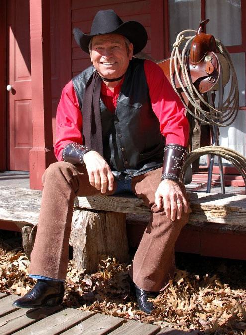 Blazing Saddles star Burton Gilliam in Bonham for Heritage