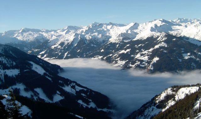 Uz slēpēm Alpos