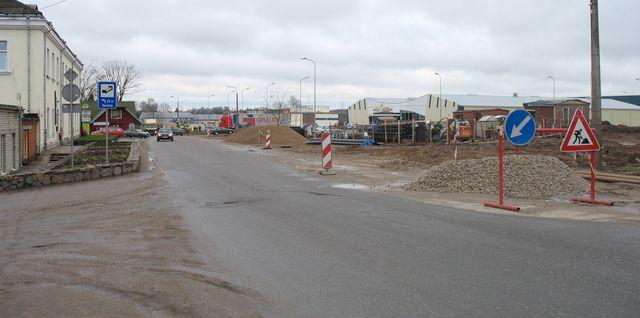 Priekšlikumi satiksmes organizācijai Kurzemes ielā