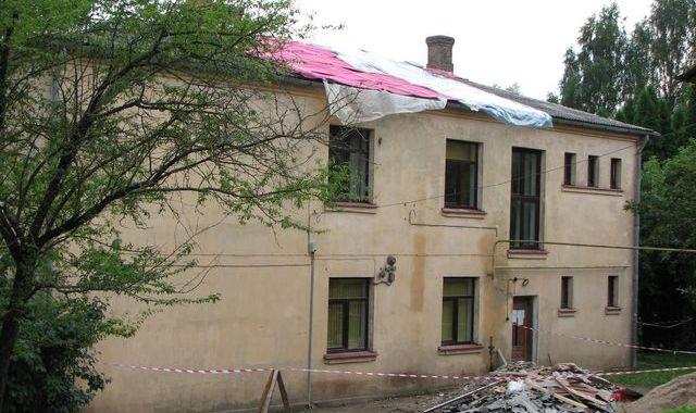 Jaunpils «Jaunkalnos» uzsāk remontdarbus