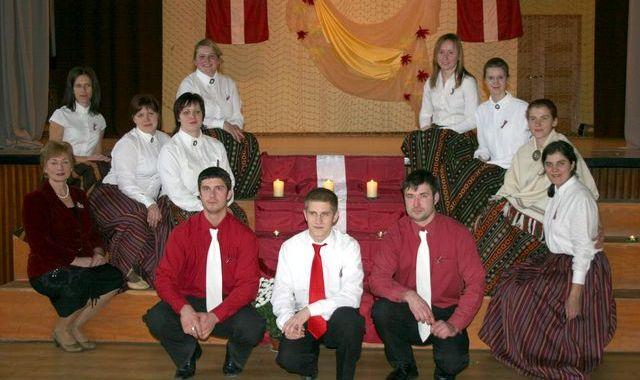 Valsts svētku svinēšana Jaunpils novadā