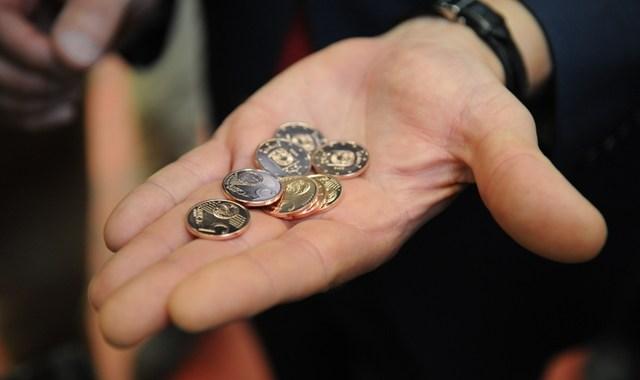 Sākta Latvijas eiro monētu kalšana /FOTO/