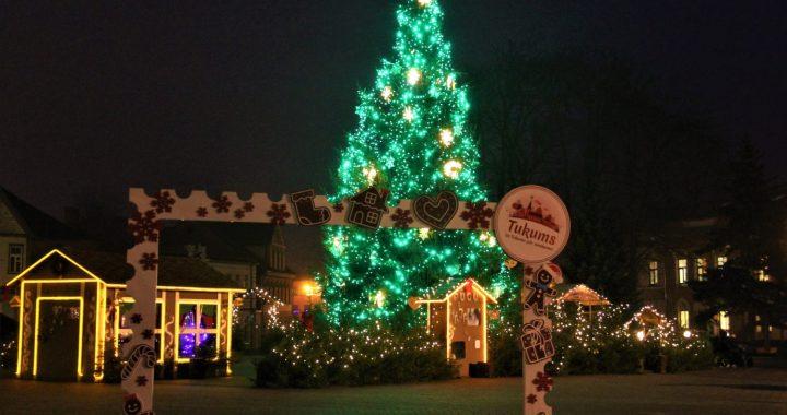 Ziemassvētki Tukumā un apkārtnē