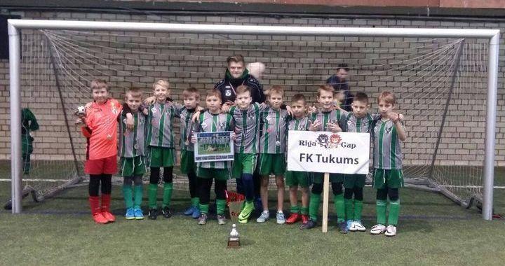 FK «Tukums 2000» uzvar «Rīgas kausā»