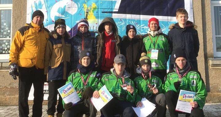 Tukuma Raiņa ģimnāzijas skolēni ziemas olimpiskajā festivālā