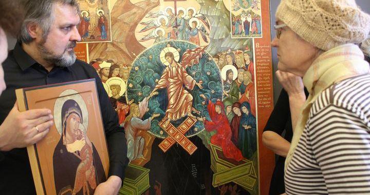 Kandavas muzejā atklāta ikonu izstāde «Augšāmcelšanās gaisma»