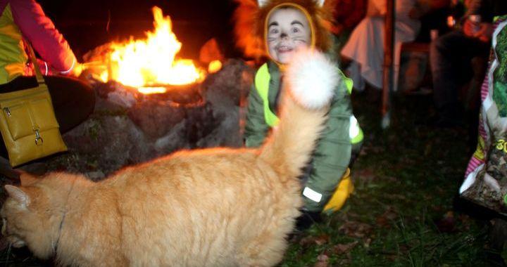 Kā Kandavā Helovīnu atzīmēja/FOTO/