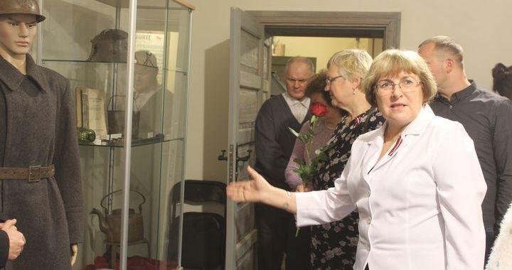Kandavas muzejā atklāj jaunu ekspozīciju