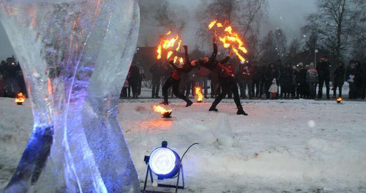 Ledus festivālā Engurē