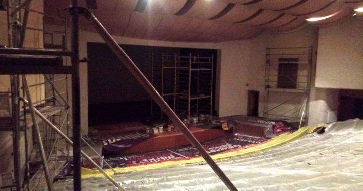 Uzsākti remontdarbi Slampes kultūras namā