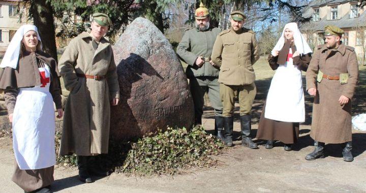 Jaunpils atbrīvošanas 100. gadadienā/FOTO/