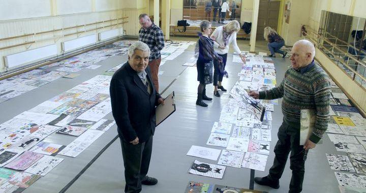12. karikatūru konkursā – gandrīz 500 darbu