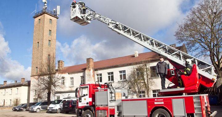 Izsludināts iepirkums Tukuma ugunsdzēsēju depo pārbūvei