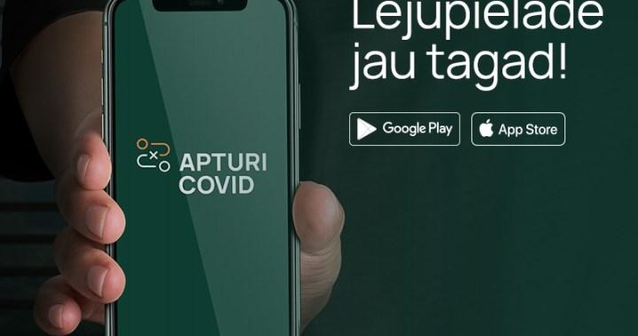 """Latvijas iedzīvotāju aizsardzību pret vīrusa izplatību turpmāk papildinās mobilā lietotne """"Apturi Covid"""""""