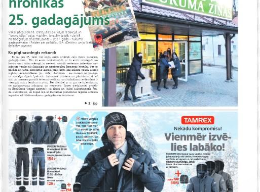 """4. decembra laikraksta """"Neatkarīgās Tukuma ziņas"""" apskats"""