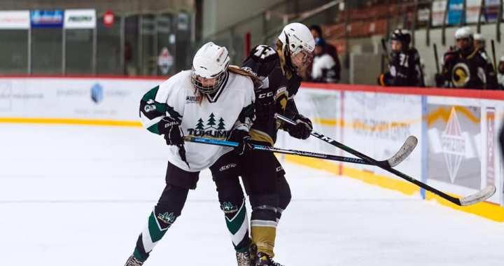Sieviešu hokeja komanda aizvadījusi pirmo spēli; aicina komandā