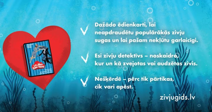Pasaules Dabas Fonds aicina mīlēt jūru ne vien ar vārdiem, bet arī ar darbiem