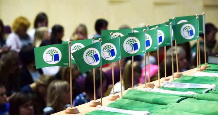 Kandavā, Tukumā, Irlavā, Zantē un Engurē plīvos  «Zaļais karogs»