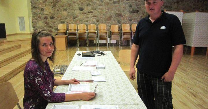 Rīts Milzkalnes vēlēšanu iecirknī