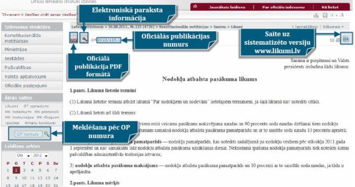 Šodien iznācis pirmais Latvijas Vēstnesis – tikai elektroniski