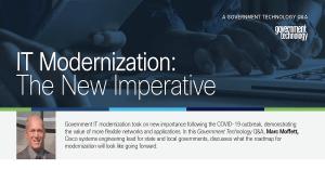 IT Modernization: The New Imperative