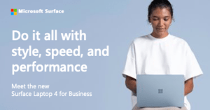 Surface Laptop 4 for Business Fact Sheet